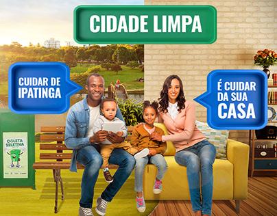Prefeitura Ipatinga | Cidade Limpa