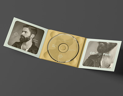 CD DigiPack Mock-up 3