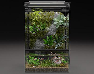 Aquarium animation