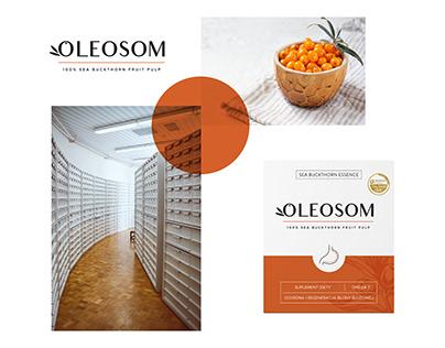 Oleosom   Rebranding, packaging