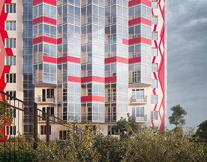 "Residential complex ""Uventa"" Saint-Petersburg"