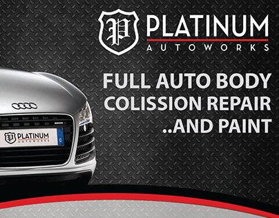 Platinum Autobody Flyers
