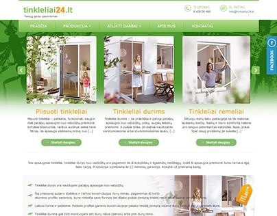 www.tinkleliai24.lt  || wordpress website