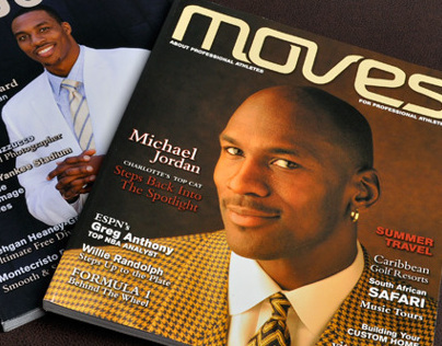 Moves Magazine Two-Page Spreads