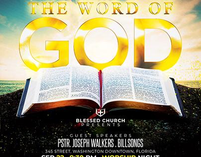 The Word of God Church Flyer