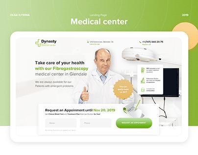 Medical Center / Landing Page