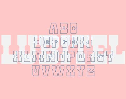 Lomo Lubitel Typeface
