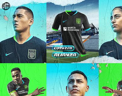 Alianza Lima Away Kit 2020.