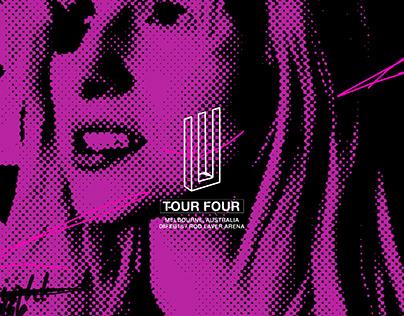 PARAMORE TOUR FOUR : FAN SHIRT DESIGN