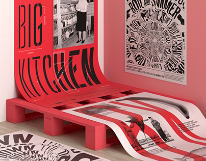 Big Kitchen – Living Type Specimen