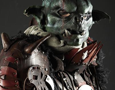 TSADOK: leather costume for LARP