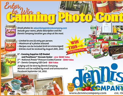 Canning Photo Contest 2015