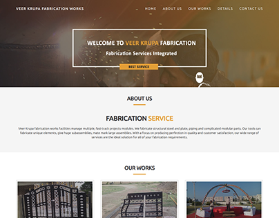 Metal Fabrication Works | Veer Krupa Fabriction