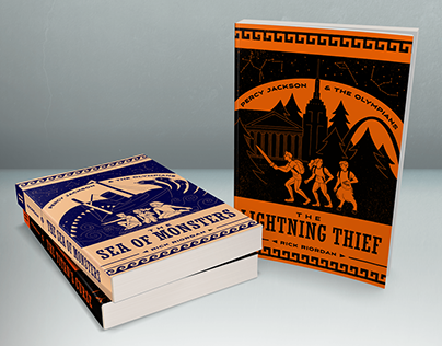 Percy Jackson Book Covers