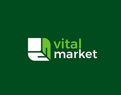 VITAL MARKET Visual Identity