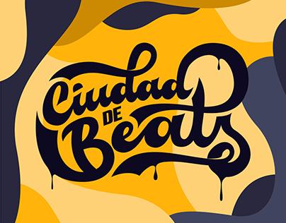 Lettering Ciudad de Beats