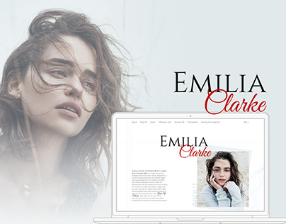 Landing page | Emilia Clarke