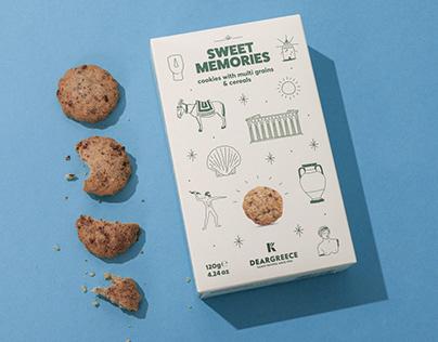 Sweet Memories Cookies for Dear Greece