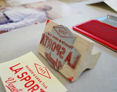 La Sporta — Food delivery service brand identity