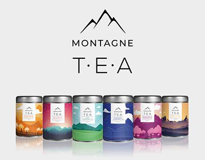 Montagne Tea Packaging
