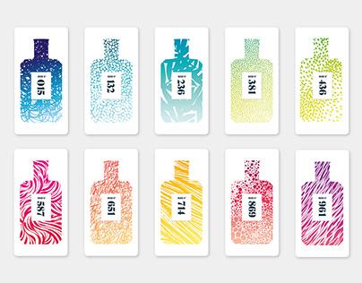 Spray cards