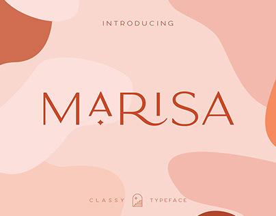 Classy Marisa Typeface