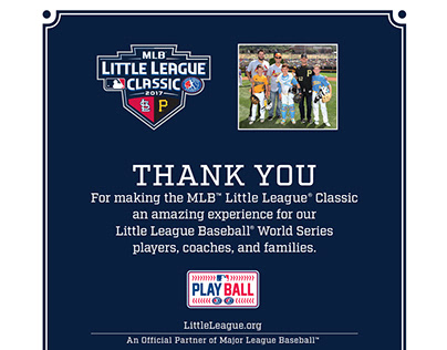 MLB 2017 Program Ad