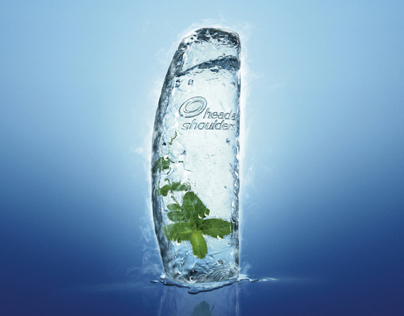 Head & Shoulders - Mint shampoo