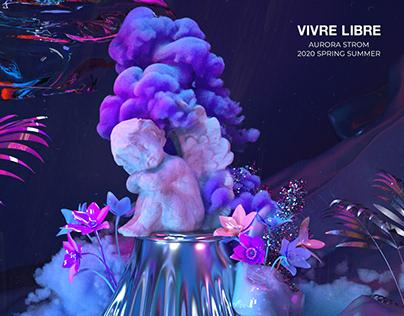 VIVRE LIBRE 2020ss 3d film