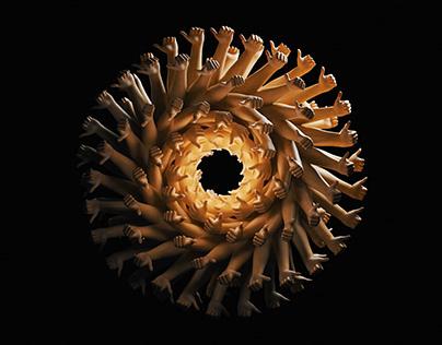 C4D Infinite Looping Hands - Cinema 4D Tutorial