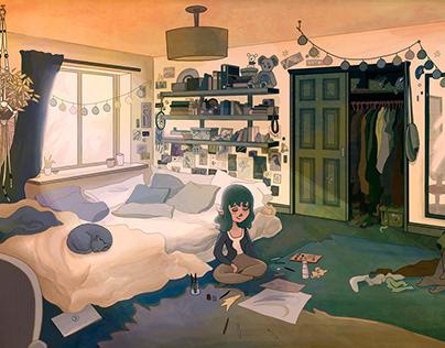 Calm bedroom 2019