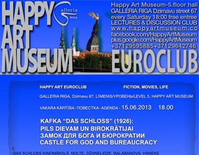 HAPPY ART EUROCLUB discuss @GALLERIA RIGA 7.LEVEL/ HAM