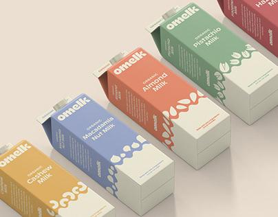 OMELK | Visual ID + Packaging