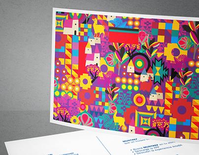 Texture designs for International fair ArteBA