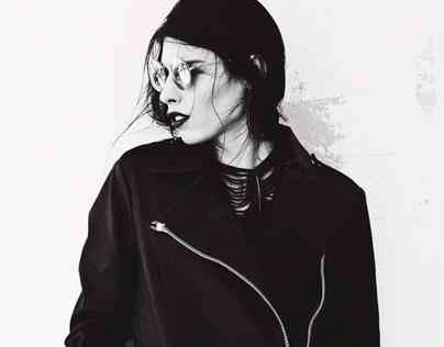 Polina Moroz. Models off duty