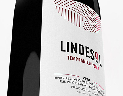 Lindesol - Wine label