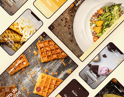 Crepes&Waffles / Restaurant Web App