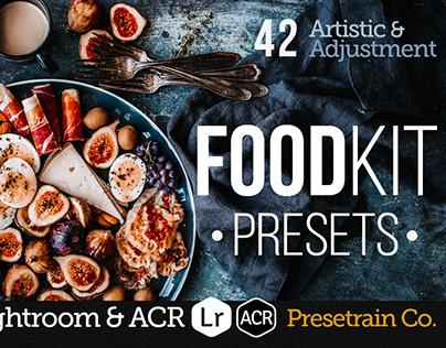 FoodKit - 42 Food Presets for Desktop & Mobile