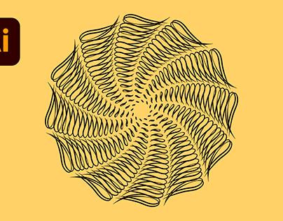 Calligraphic Designs in Adobe Illustrator