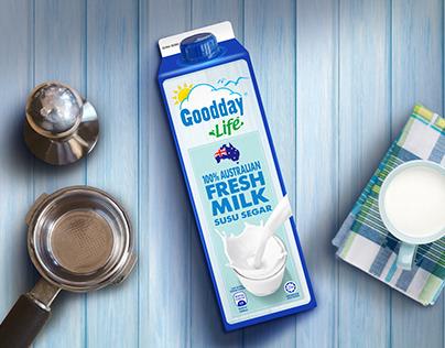 Goodday Plus Australia Milk