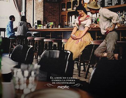 Campaña publicitaria Meetic