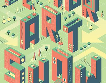 Poster Design SENIOR ART SHOW