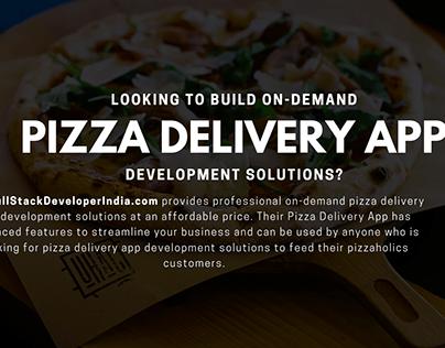 Pizza Delivery App Development
