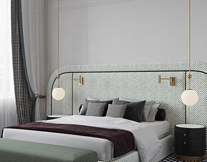 Visualization bedroom in a Smolniy park