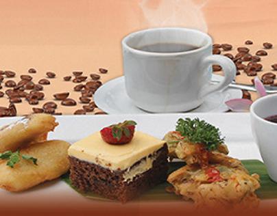 Poster Design for Ashoka Hotel & Laddu Restaurant Bali