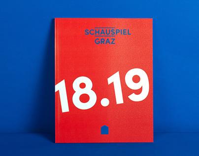 Schauspielhaus Graz Spielzeitheft 18.19