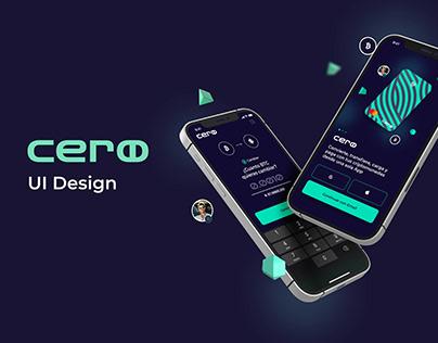 CERO App - UI Design Case Study