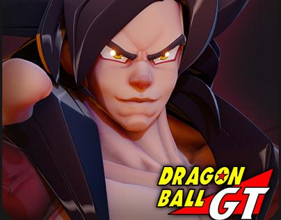 """Goku Super Sajajin Lv4 """"Fanart """""""
