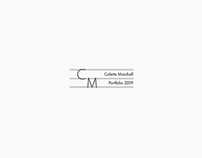 Colette Marshall // PDE Mini Portfolio 2019