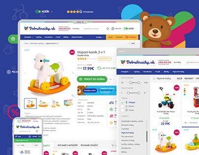 Dobrehracky | Webdesign & Logo